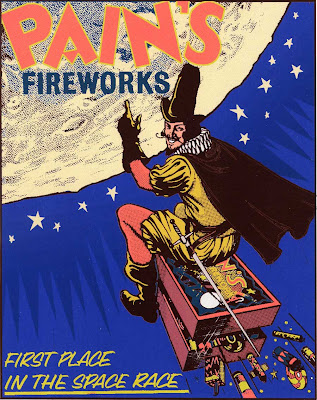 Vintage Fireworks Posters and Labels for The Fourth of July (11)