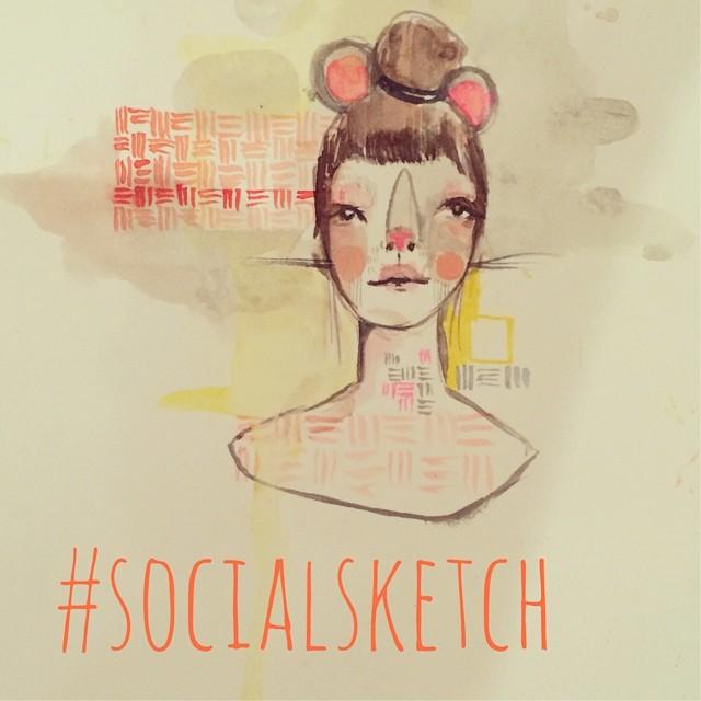 social sketch at Mua